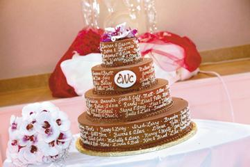 A Year Of Saint Louis Weddings Cakes