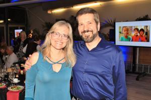 Corinna and David Warren