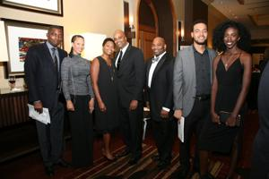 Peter and Erin Aje, Karlla and Michael Dozier, Ryonnel Jackson, Quentin Townsend, Tiffanie Brown