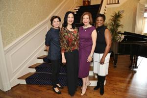 Mariann Nunn, Dr. Eva Frazer, Phyllis Langsdorf, Gwendolyn Packnett, Phd.