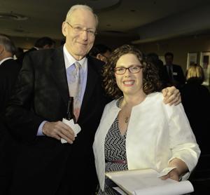 Dr. Mark Harrington and Toni Ponder
