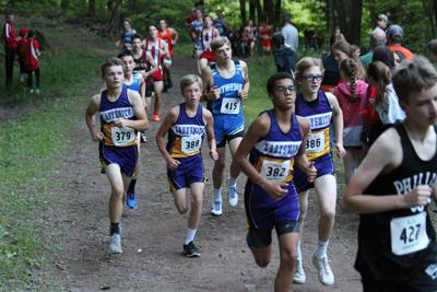 Ladysmith XC competes at Timm's Hill