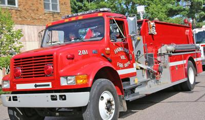 Hawkins fire receives grant