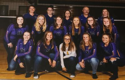 Volleyball team honored with academic all state award