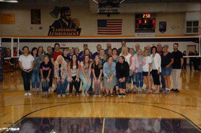 Jills down Northwestern on Parent/Staff Appreciation night