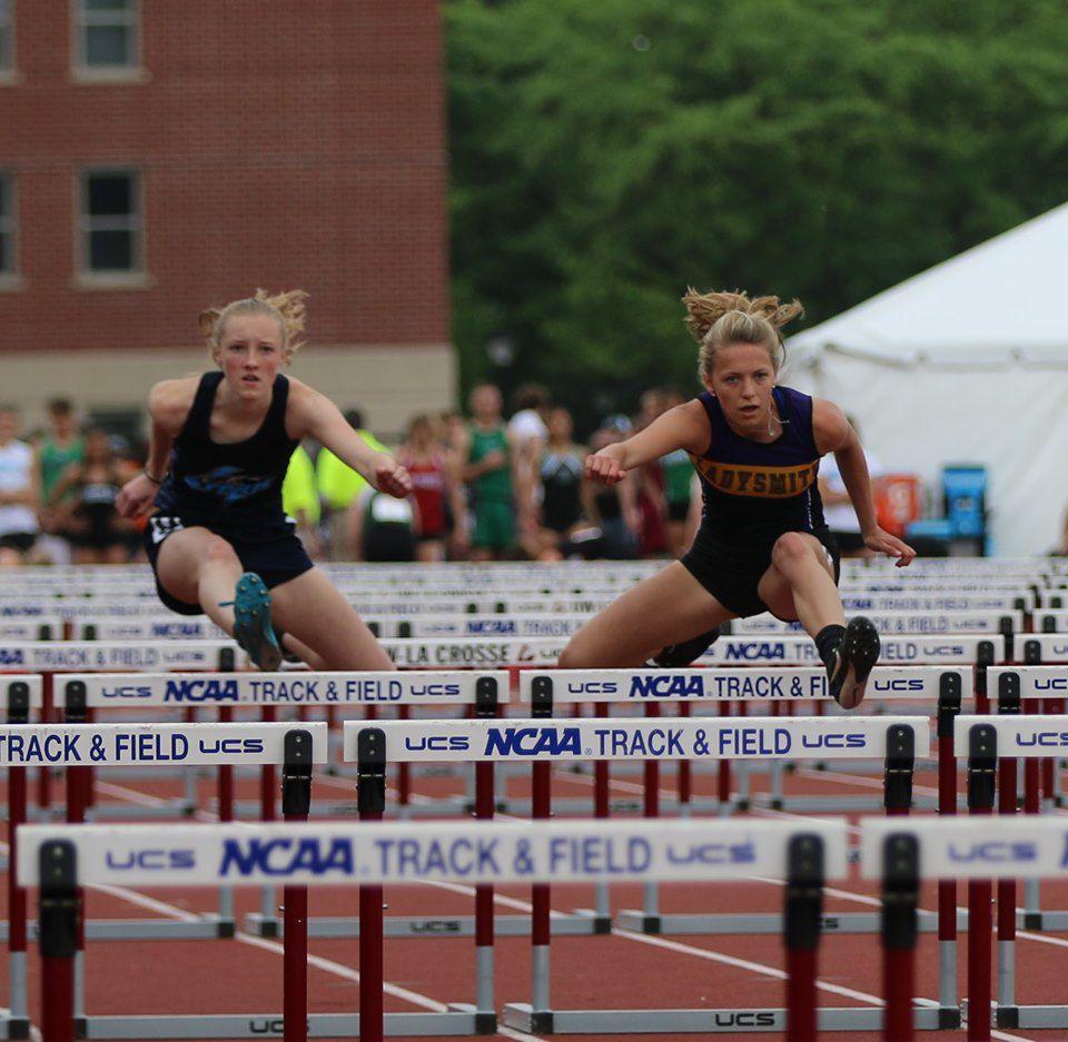 Ladysmith's Becker, Dupee reach podium at state track