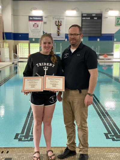 Trident Swimmers Earn State Honors