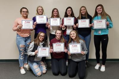 SIX JILL VOLLEYBALL PLAYERS AWARDED WVCA ACADEMIC AWARD