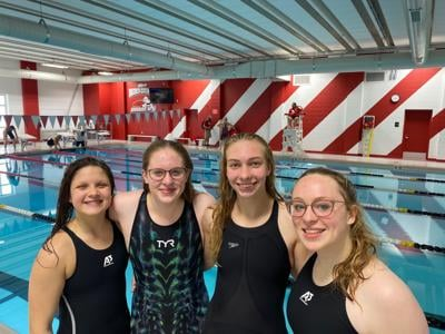 Tridents Compete at Sectionals – Send Four to State.