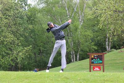 Jacks compete at conference golf match