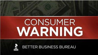 Better Business Bureau alert