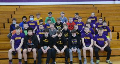 MIDDLE SCHOOL GRAPPLERS FINISH SEASON FOR JACKS