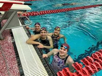 Podiums, Team Records and Personal Bests for the Tridents at the State Swim Meet