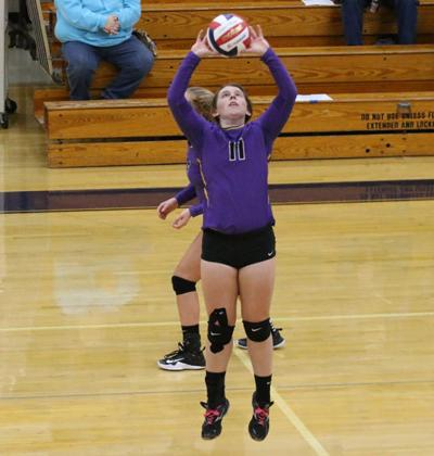Jills wrap up busy week of volleyball