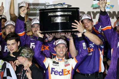 Denny Hamlin, Winner of the 61st Daytona 500