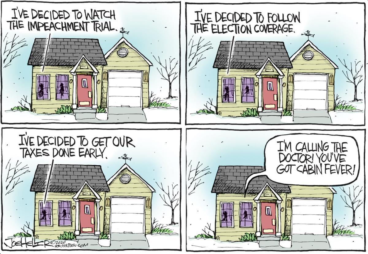 Cabin Fever Editorial Cartoons Ladysmithnews Com