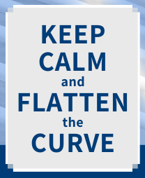 Keep calm and flatten the curve
