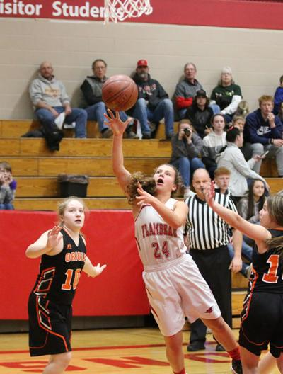 Falcon girls fall to Orioles