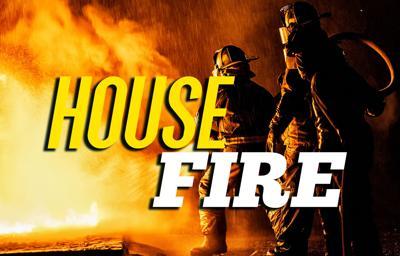 House fire near Conrath