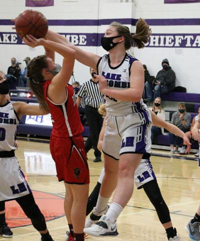 Lady Chieftains hand Red Raiders first loss in conference