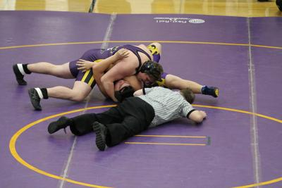 Jacks fall to Bloomer-Colfax in dual meet action