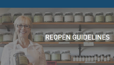 Reopen guidelines