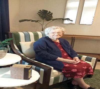 MRS. ALINE FORET CELEBRATES 107 YEARS