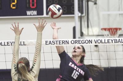 EOU volleyball Jet Taylor 2019