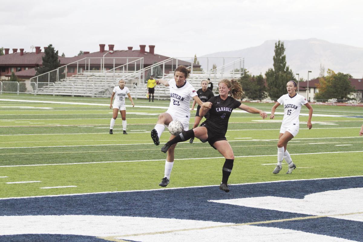 EOU women's soccer