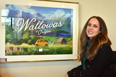 Jennifer Piper, new executive director of the Wallowa County Chamber of Commerce