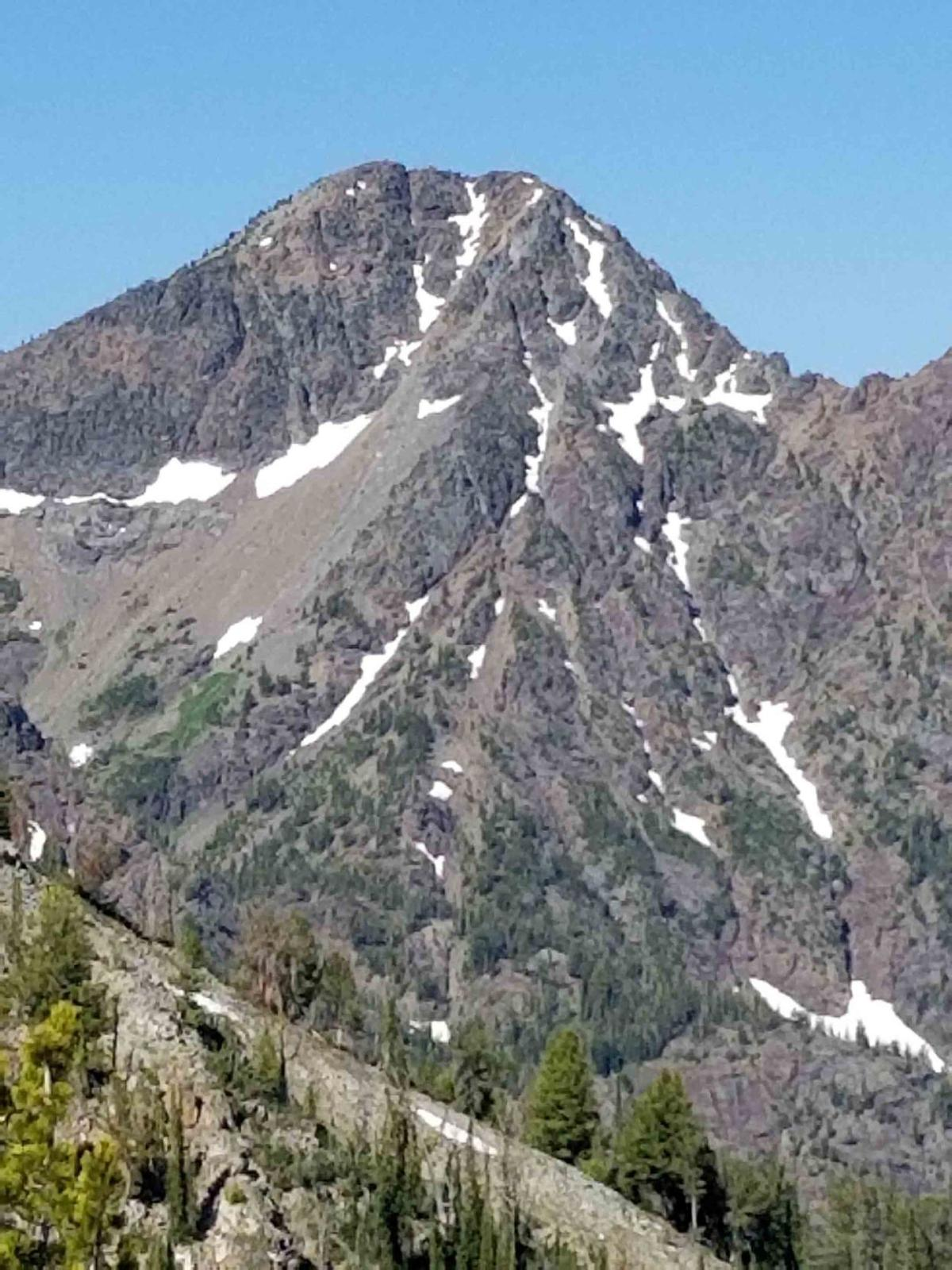 On top, off trail