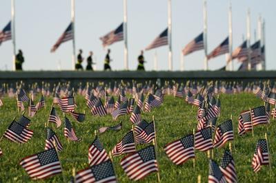 COVID Memorial Project flags.jpg