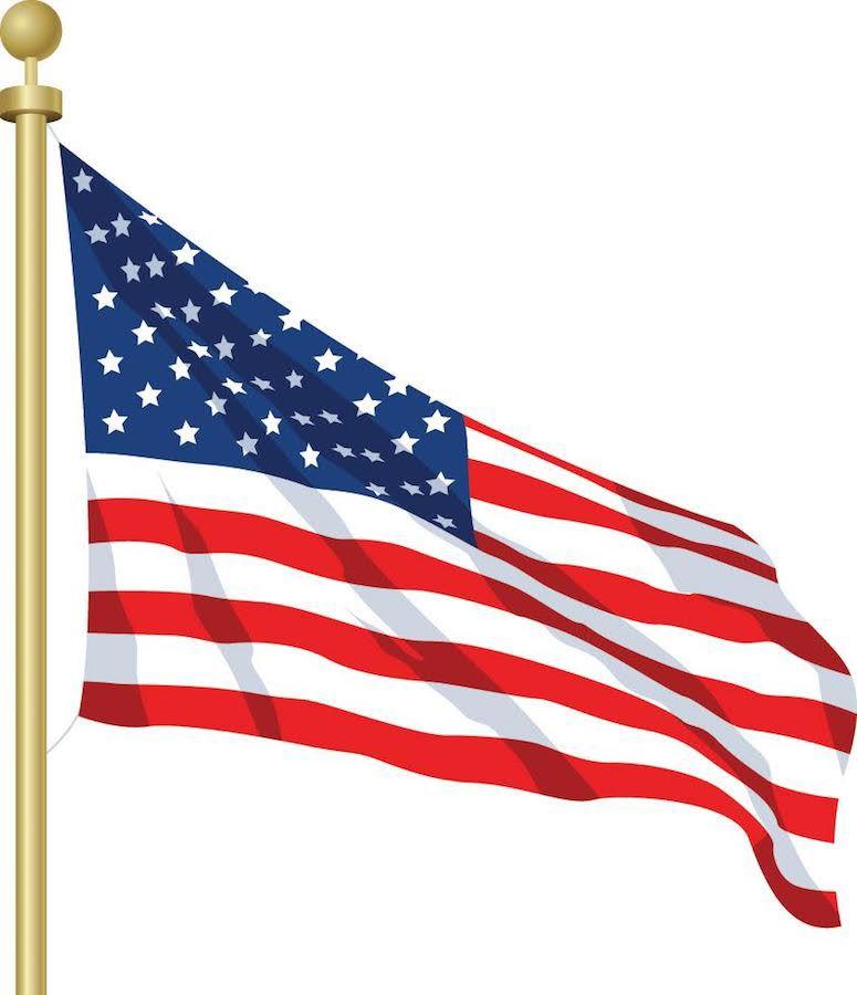 Flag for obits