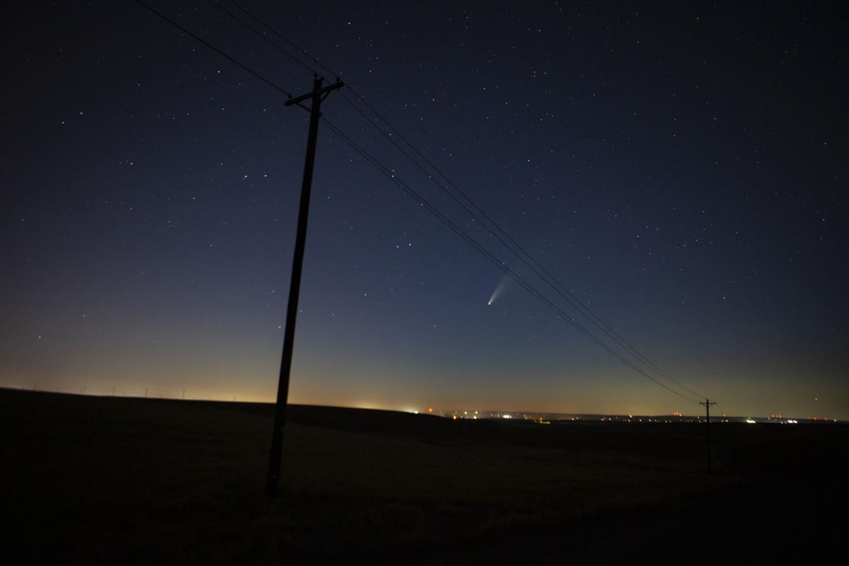 Comet NEOWISE streaks over Eastern Oregon