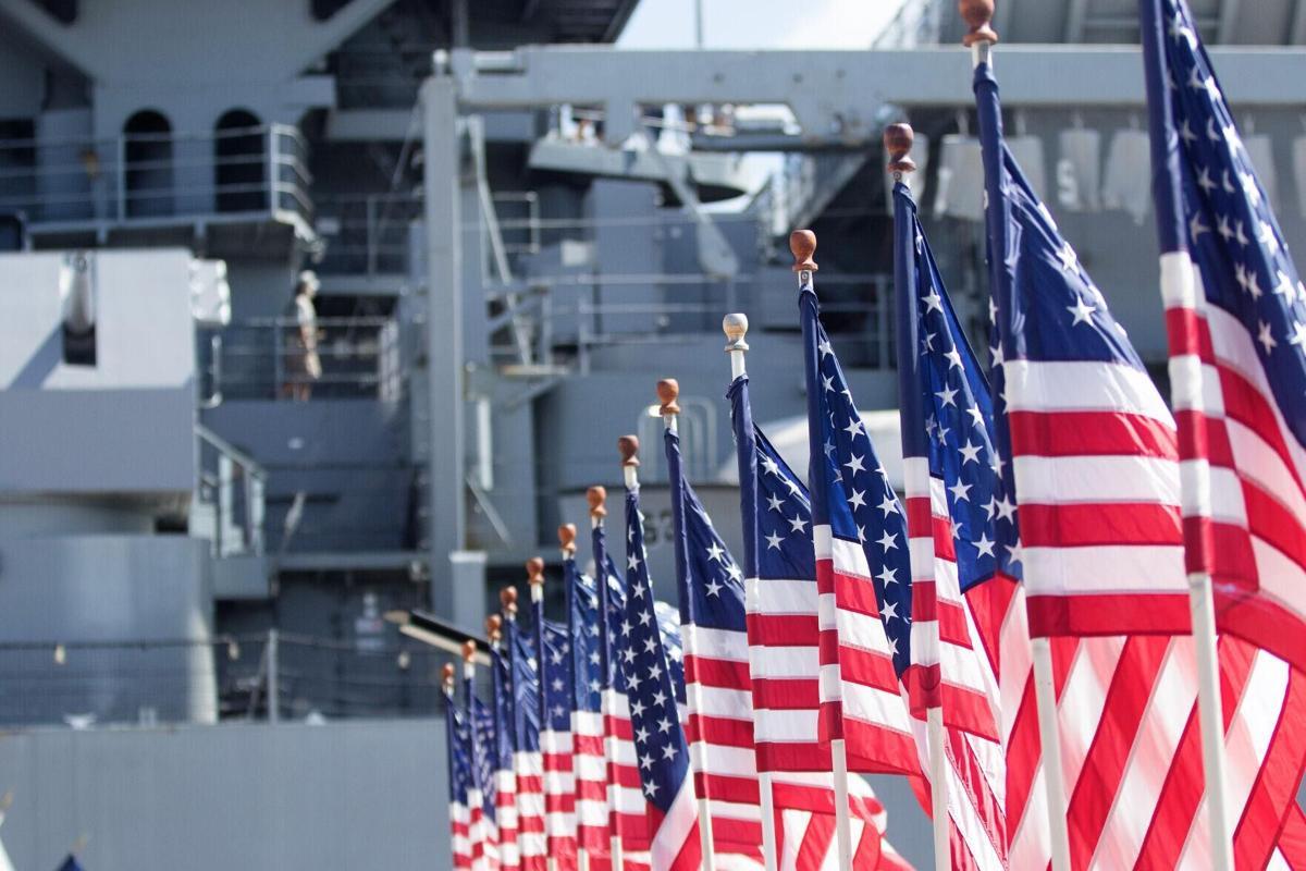 American flags .jpg