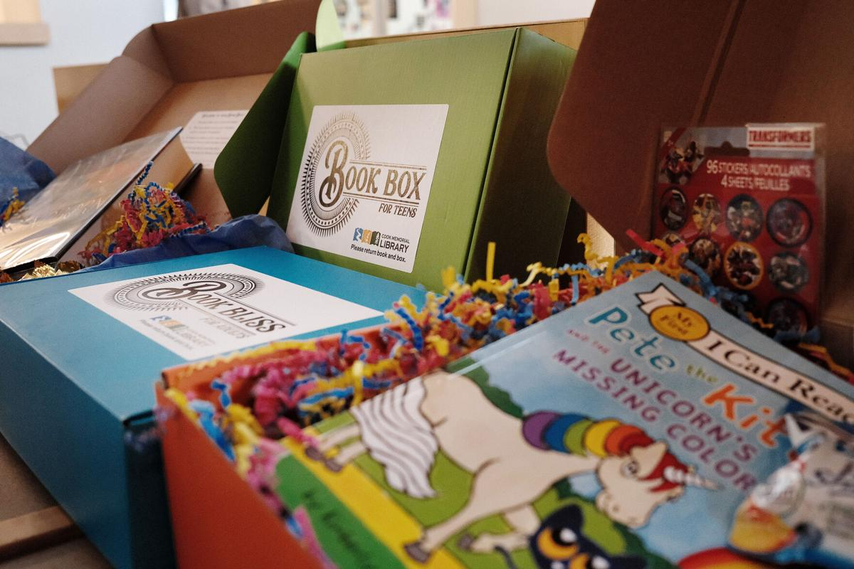 Cook Memorial Library subscription boxes