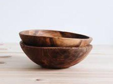 Flora - carved bowls
