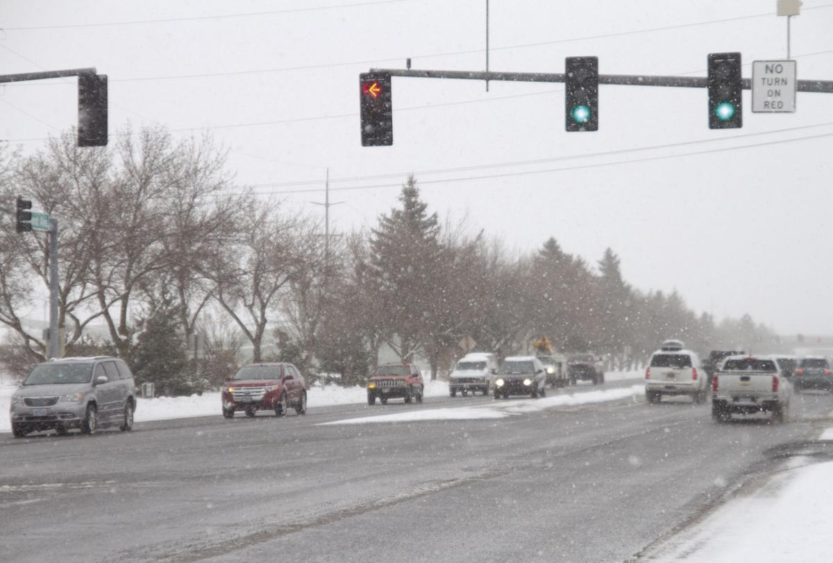 Snowy roads 2
