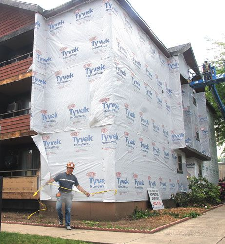 Remodeling project helps Habitat for Humanity