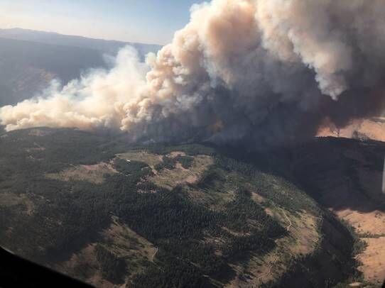 Elbow Creek Fire July 15, 2021