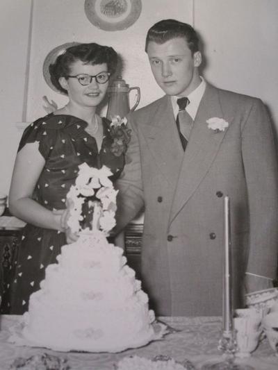 Wayne & Betty Jones milestone photo