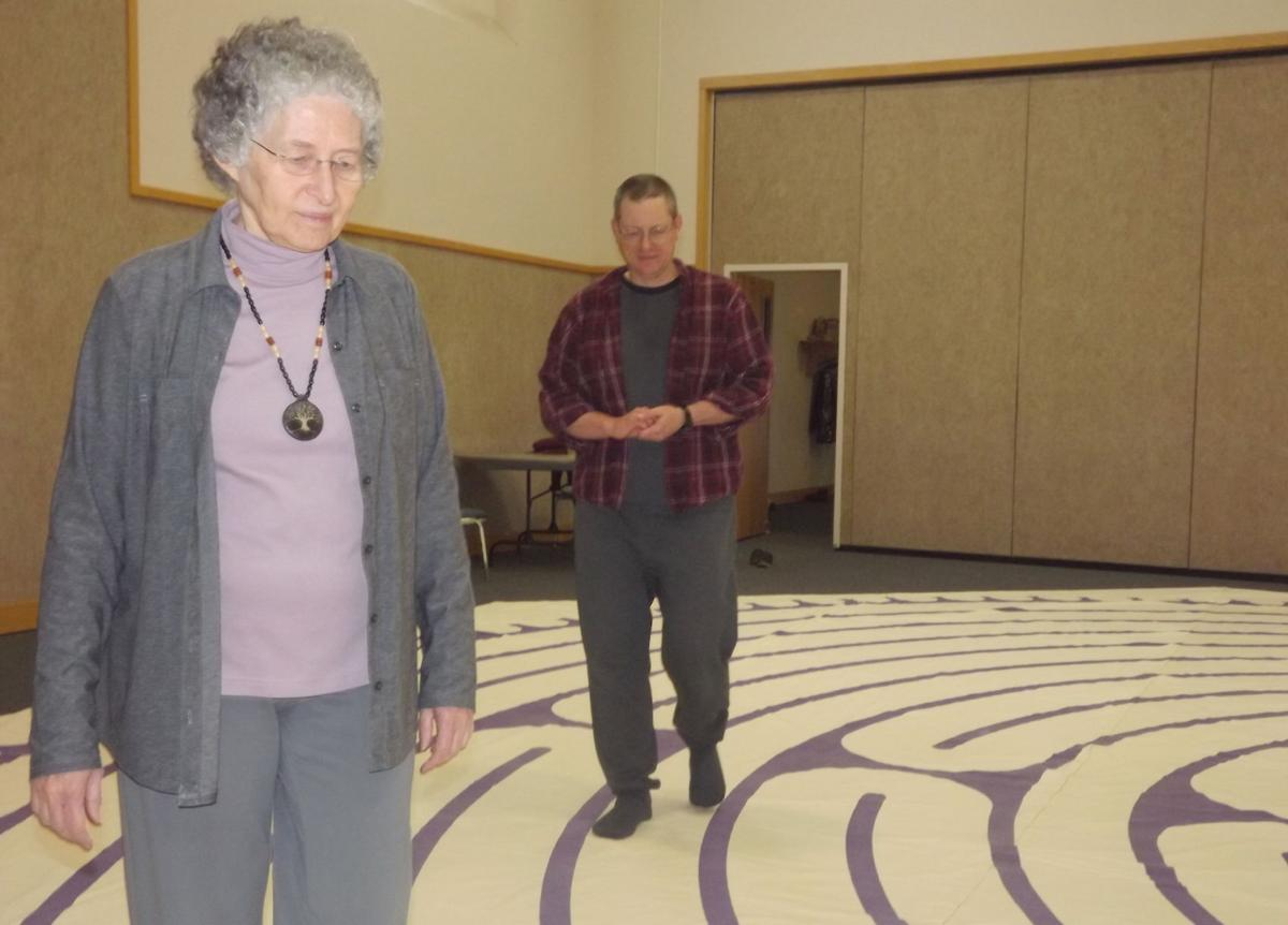 Labyrinth retreat 1