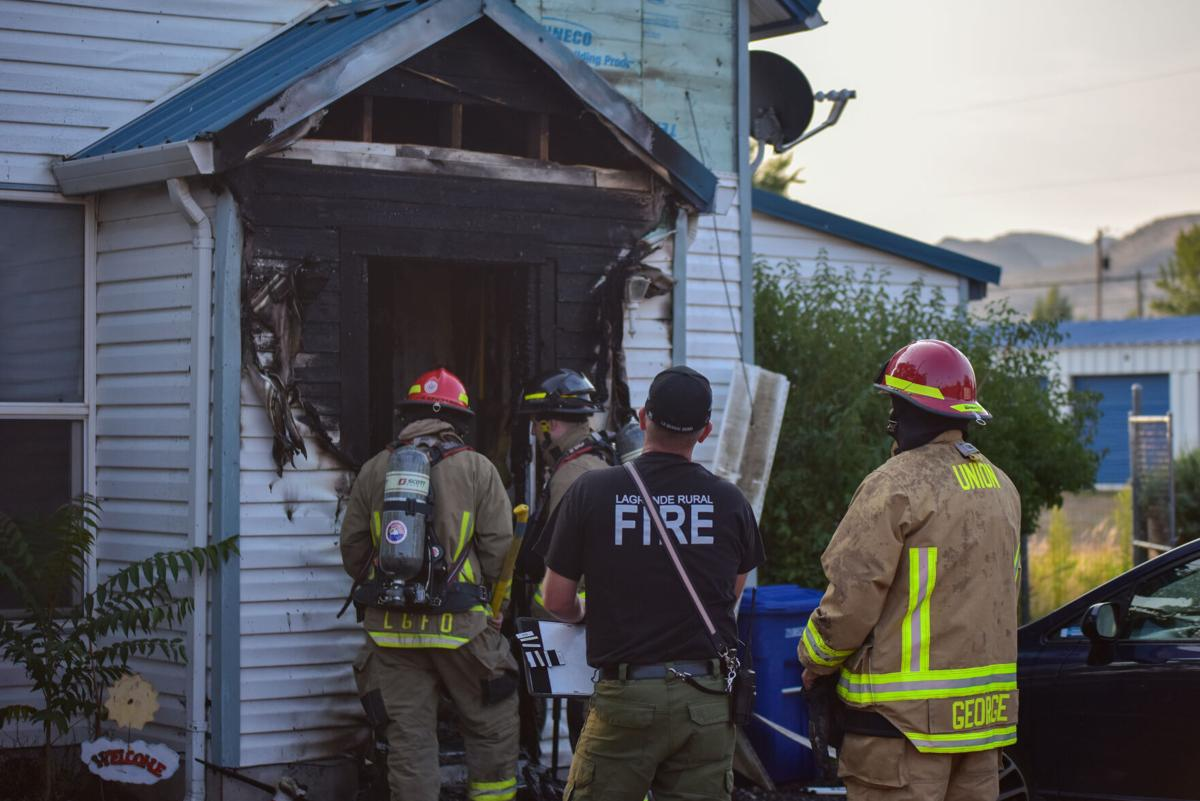 Nobody injured in Aug. 26 Union house fire | Local News |  lagrandeobserver.com