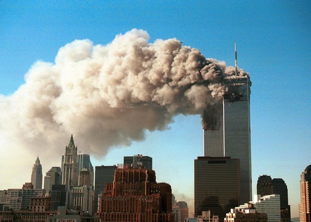2001: 9/11 terrorist attacks