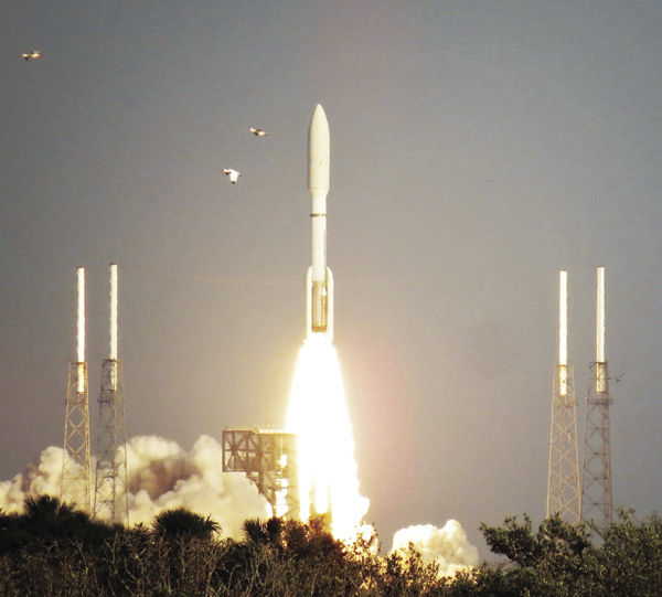 GOES launch