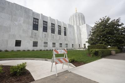 The Oregon Capitol