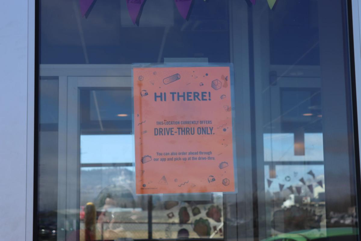 Taco Bell only drive-thru