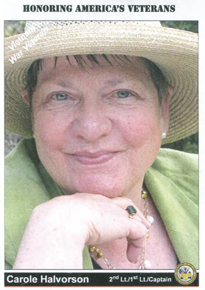 Carole Halvorson paid obit photo