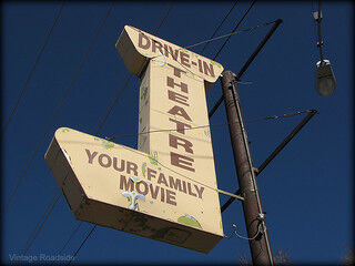LG Drive-In sign