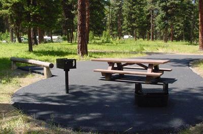 Bird Track Springs Campground
